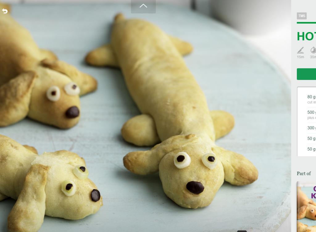 Hot dogi jamniczki dziecięcy szał Thermomania Thermomix