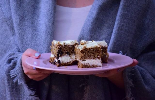 Ciasto marchewkowe z kremem zdrowe pyszności Thermomania Thermomix