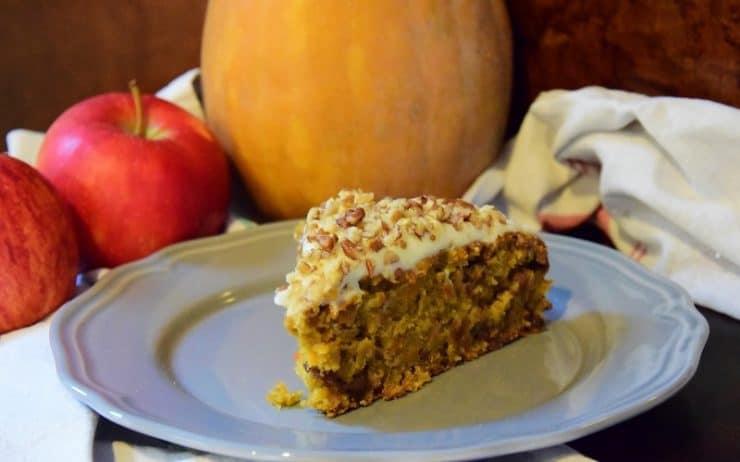 Proste, szybkie i wilgotne ciasto jabłkowo - dyniowe Thermomix Thermomania
