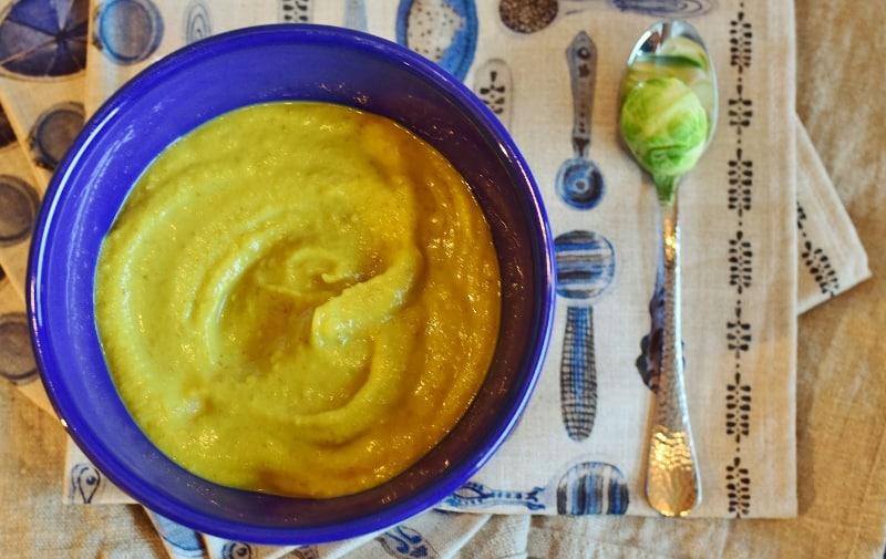 Zupa krem z brukselką, curry i soczewicą Thermomania Thermomix