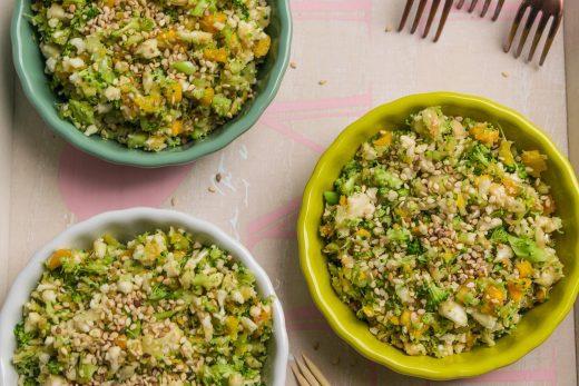 Surowy kolorowy warzywny ryż Thermomania Thermomix