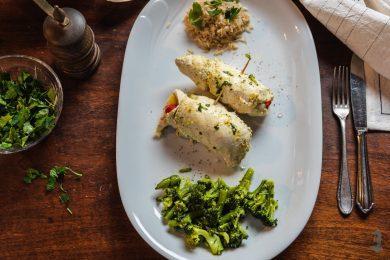 Roladki z kurczaka z ryżem i maślanymi warzywami Thermomania Thermomix