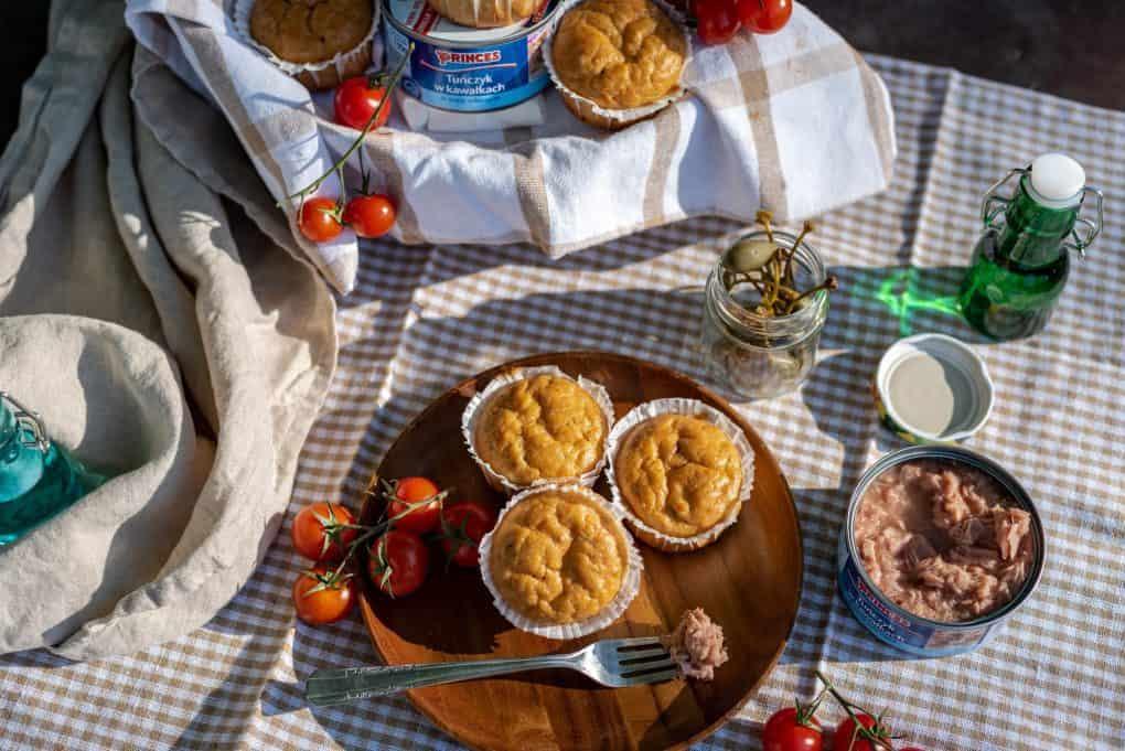 Muffiny orkiszowe z tuńczykiem Thermomania Thermomix