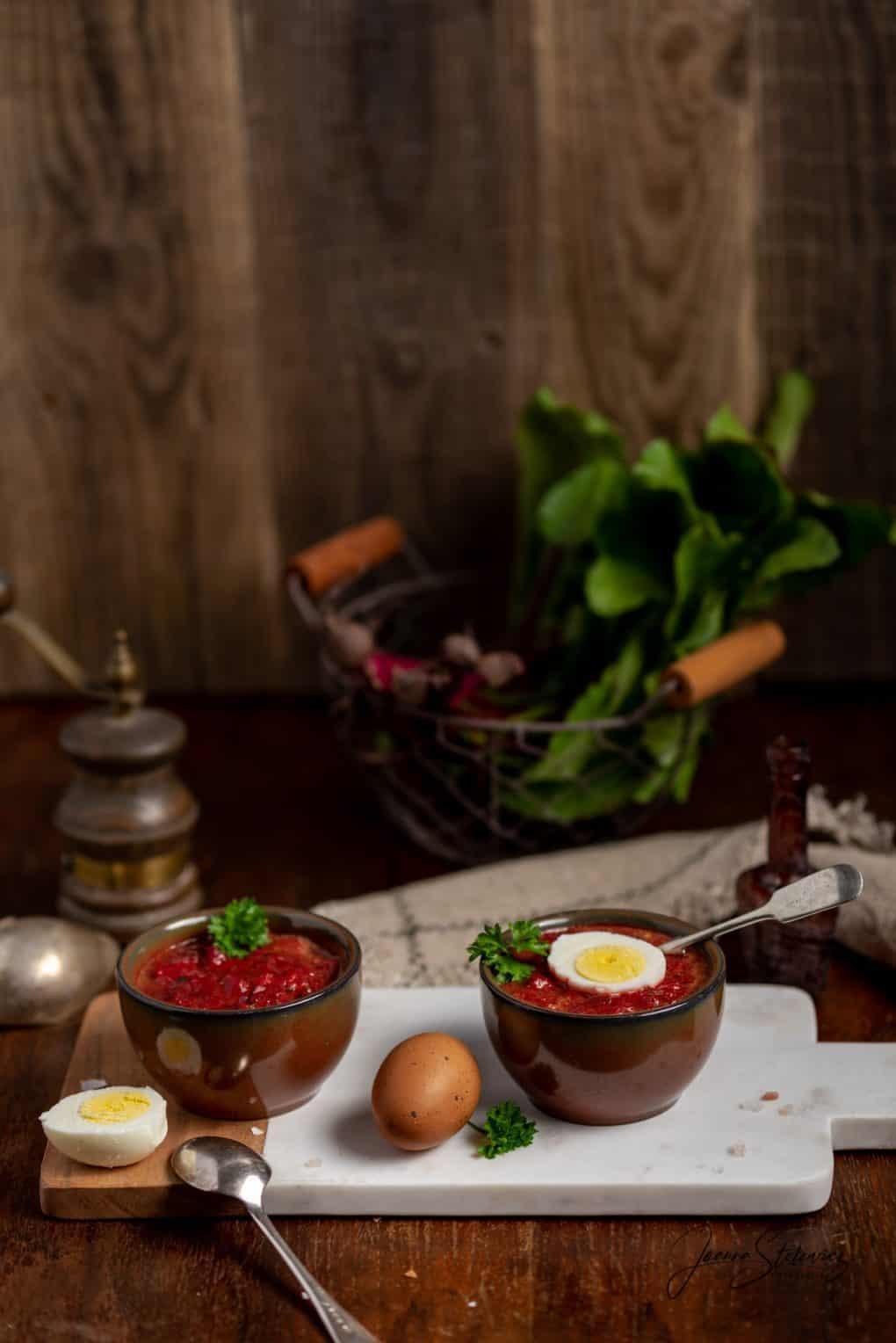 Zupa warzywna z botwiną botwina botwinka Thermomania Thermomix