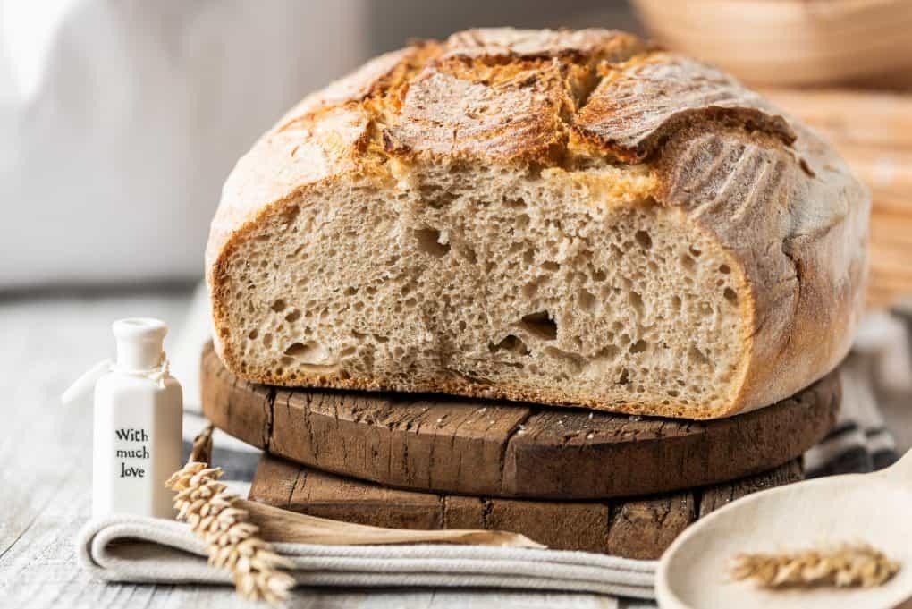 Domowy chleb z Vermont na zakwasie